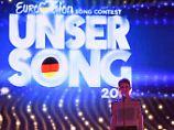 """Die Sängerin Isabella """"Levina"""" Lueen steht am 08.02.2017 bei einer Probe zum """"Eurovision Song Contest - Unser Song 2017"""" in Köln (Nordrhein-Westfalen) auf der Bühne. Foto: Henning Kaiser/dpa +++(c) dpa - Bildfunk+++"""