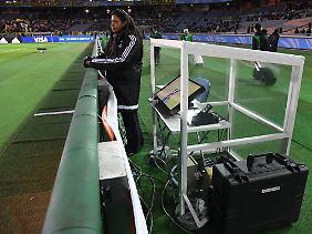 Review am Spielfeldrand: Hier beim Halbfinale der Klub-WM in Kanagawa, Japan.