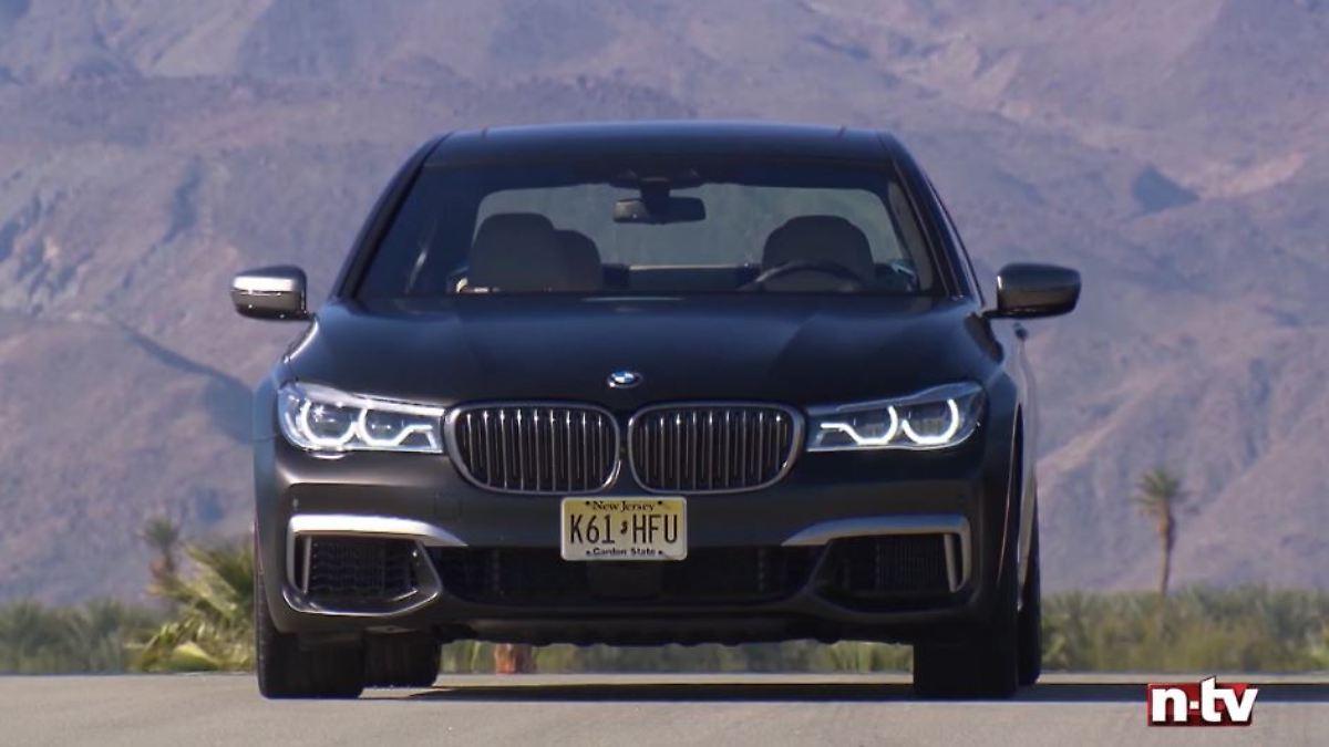 Passt der BMW M 760 Li auf die Rennstrecke?