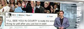 """n-tv Netzreporter: So reagiert das Netz auf Trumps """"Wir sehen uns vor Gericht!"""""""