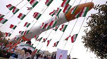 Der Iran führte kürzlich einen Raketentest durch.