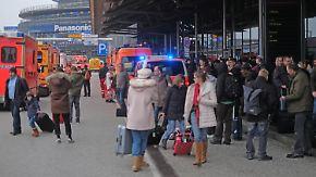 Evakuierung nach Atemwegsreizungen: Pfefferspray legt Flughafen Hamburg zeitweilig lahm