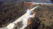 Der Oroville-Staudamm