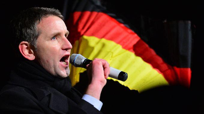 Björn Höcke gibt sich gern als Volkstribun.