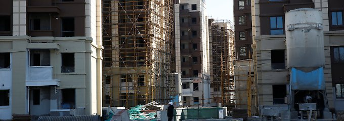 Auch in Shanghai wird weiter kräftig gebaut.