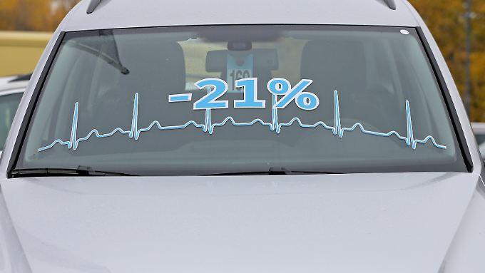 Für Autokäufer war der Januar ein guter Monat. Hier gab es besonders hohe Rabatte.