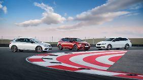 Den Seat Leon Cupra wird es in allen Modellvarianten geben.