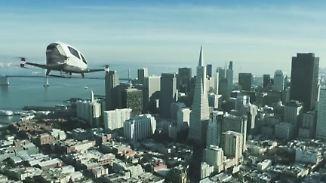 Ein-Mann-Gefährt ohne Pilot: In Dubai fliegen künftig Taxidrohnen