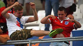 Bei der EM waren von russischen Hooligans gezielt englische Fans attackiert worden.