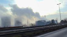 Dutzende Menschen verletzt: Giftwolke zieht durch Oberhausen