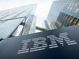 Schwieriger Konzernumbau: IBM meldet deutlichen Umsatzrückgang