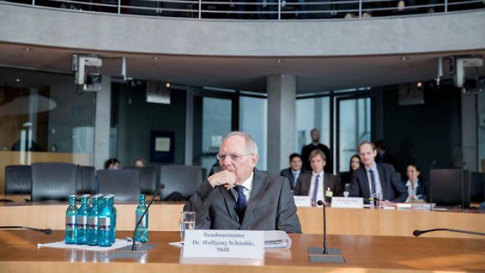 Bundesfinanzminister Wolfgang Schäuble.