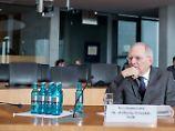 """Schäuble im Cum-Ex-Ausschuss: """"Ich möchte die Frage nicht beantworten"""""""