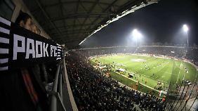 Partizan Belgrad hegt eine Fan-Freundschaft zu Thessaloniki.