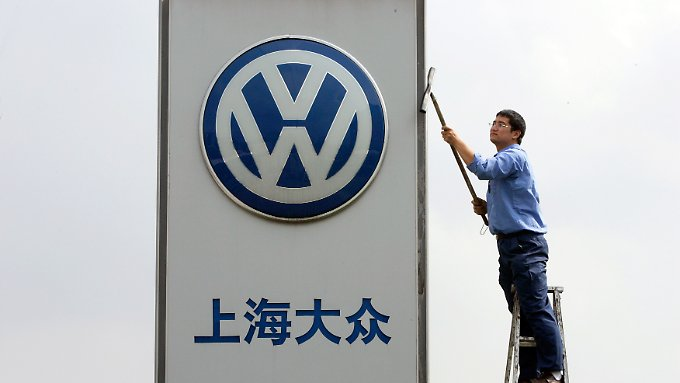VW hatte viele fette Jahre in China.