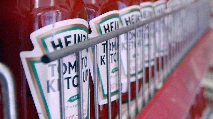 Der Ketchup gehört zu den bekanntesten Produkten von Kraft.