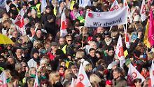Neue Warnstreiks abgewendet: Einigung im öffentlichen Dienst steht