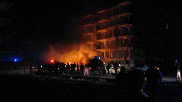 Die Explosion ereignete sich in der Nähe eines Gebäudes im Distrikt Viransehir, in dem Staatsanwälte wohnen.