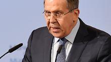 """Nato sei """"Eliteklub von Staaten"""": Lawrow fordert neue Weltordnung"""