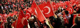 Türkeis Premier in Oberhausen: AKP lässt Reporter nicht zu Yildirim-Rede