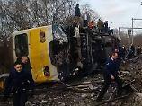 Auf dem Weg an die Nordsee: Ein Mensch stirbt bei Zugunglück in Belgien