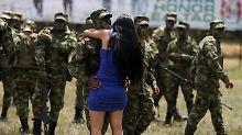 Krieg und Frieden in Kolumbien: Farc-Kämpfer sind in Entwaffnungszonen