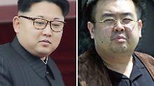 "Kims Neffe ""in großer Gefahr"": Ermittler: Nordkorea steckt hinter Gift-Mord"