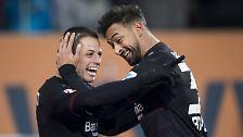 FC Augsburg - Bayer Leverkusen 1:3 (0:2)