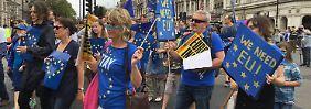"""""""Der Zug ist abgefahren"""": EU sieht keine Umkehrchance für Brexit"""