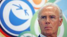 Beglich Fifa illegal Honorare?: Zahlung bringt Beckenbauer in Bedrängnis