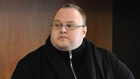 Wegen Betrugs: Kim Dotcom darf an die USA ausgeliefert werden