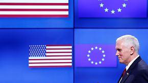 Es brodelt in Großbritannien: Pence kann Europas Nervosität nicht beschwichtigen