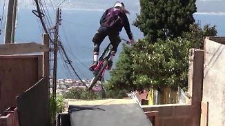 """Mountainbike-Abfahrt in Chile: """"Cerro Abajo"""" ist nichts für schwache Nerven"""