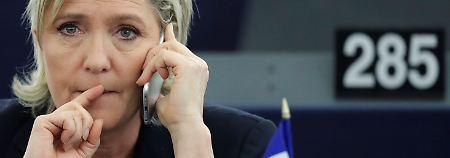 Betrugsvorwürfe gegen Le Pen: Polizei durchsucht Front-National-Zentrale