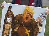 """""""Ein furchtbarer Fehler"""": Britische Labours tadeln Trump-Besuch"""