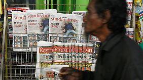 In der malaysischen Presse ist der Tod von Kim Jong Nam das Topthema.