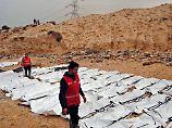 Flüchtlingstragödie in Libyen: Helfer entdecken 74 ertrunkene Migranten