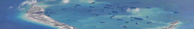 Der Tag: 06:55 Stationiert China Raketen im Südchinesischen Meer?