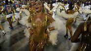 Samba, Sparkurs und Soldaten: Rio stürzt sich in den Karnevalsrausch