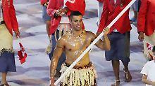 Mit Kampfgewicht in die WM-Loipe: Tongas Olympiaheld debütiert auf Skiern
