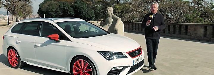 Sportliches Topmodell: Seat Leon Cupra lässt die Muskeln spielen