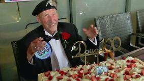 Kaum zu glauben, aber wahr: 100-Jähriger feiert Party seines Lebens