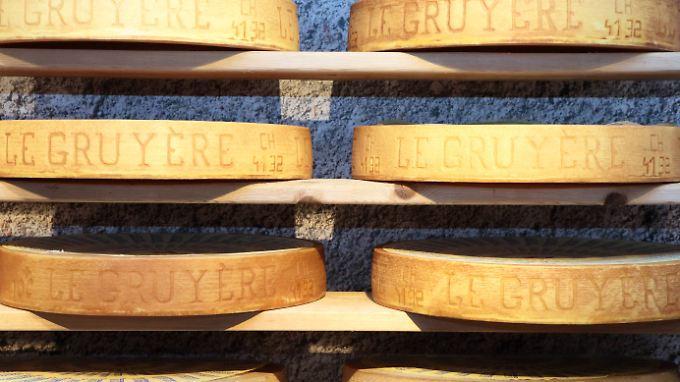 Greyerzer, französisch Gruyère, ist eine von etwa 400 Schweizer Käsesorten.