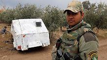 Kinder und Behinderte: IS kettet Zivilisten in Bombenautos fest