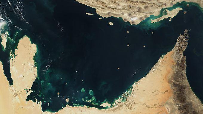 Der Zwischenfall geschah in saudischen Gewässern.