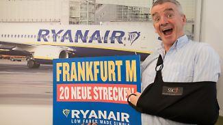 Geschäftsreisende im Visier: Ryanair baut Angebot am Lufthansa-Drehkreuz Frankfurt aus