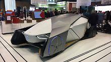 So sieht Vodafon die mobile Zukunft. Nicht unähnlich zu den Studien, die Autobauer auf ihren Messen vorstellen.