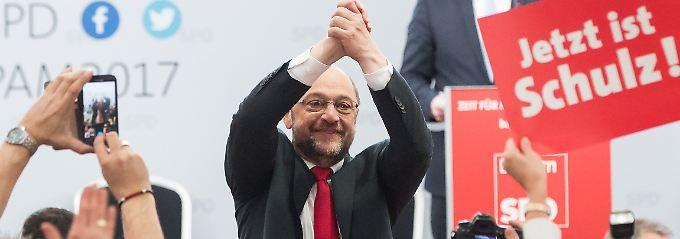 Hoffnungsträger der SPD: Martin Schulz.