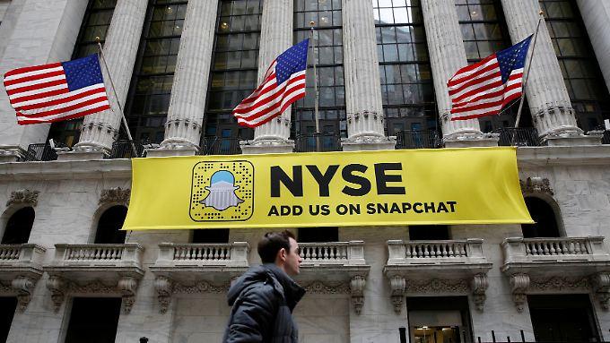 Snapchat-Mutter vor Börsengang: Aktie eine riskante Wette auf die Zukunft