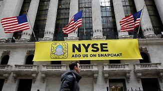 Snapchat-Mutter vor Börsengang: Aktie ist eine riskante Wette auf die Zukunft